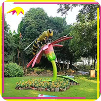 KANO1065 Kids Attraction Artificial Animal Outdoor Sculpture For Sale
