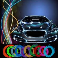 glow flashing thin sound activated Electroluminescent el wire product