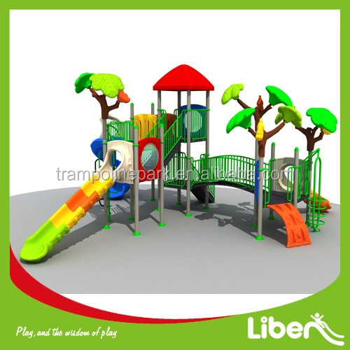 European standard professional made outdoor play area for toddlers