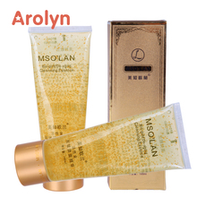 Hot New Products best whitening face wash bio essence 24k gold cleanser for dry sensitive skin OEM ODM