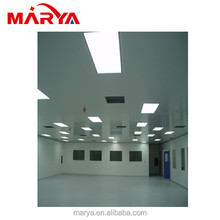 customize clean dust-free workshop square tube /stalinite acrylic plates clean booth clean room
