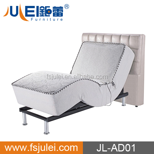 new design fabric cover electric adjustable bed set JL-AD01