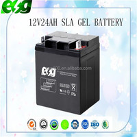 China Top Sale 12V24Ah Lead Acid Deep Cycle Ups Batteries Replacement