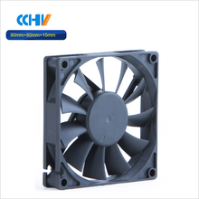 large air flow low noise 12 volt dc brushless cooling fan