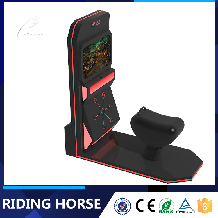 Lechuang Fitness entertainment virtual reality horse rider 9d simulator vr horse