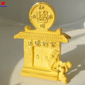 Resin Gold Effect Mascot Decoration & Business Gift