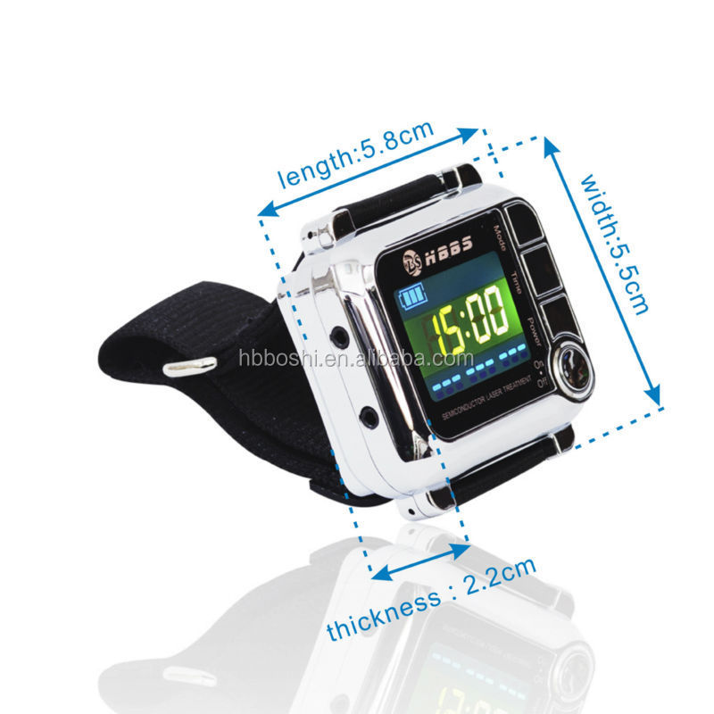 High blood pressure laser therapy device online selling high quality green laser 5mw watch