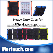 New Product Unique Design Armor Stand Tablet Case Cover For Ipad 5 for iPad Air