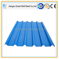 gl/aluzinc coated steel roof sheets for metal roof tile material