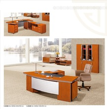 Classical office table designs in wood factory sell directly DYC8