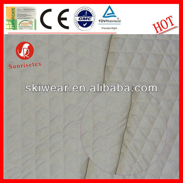 Antistatic Cotton Double Sided Quilted Fabric
