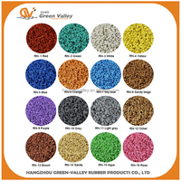 Factory Price Colorful EPDM Rubber Granule For Kindergarten Playground