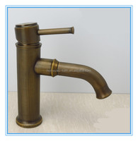 In stock Antique brass basin faucet single lever bidet mixer tap