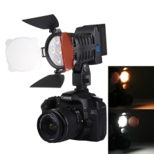 Wholesale 6 LED 750LM Dimmable Video Light on-Camera Photography Fill Light with Hand Grip