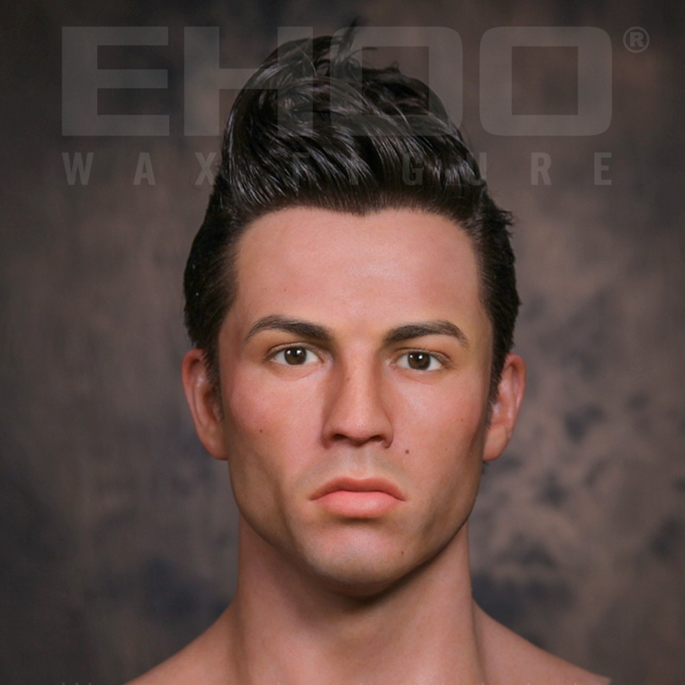 1:1 Realistic Museum Wax Figures Cristiano Ronaldo for Exhibition