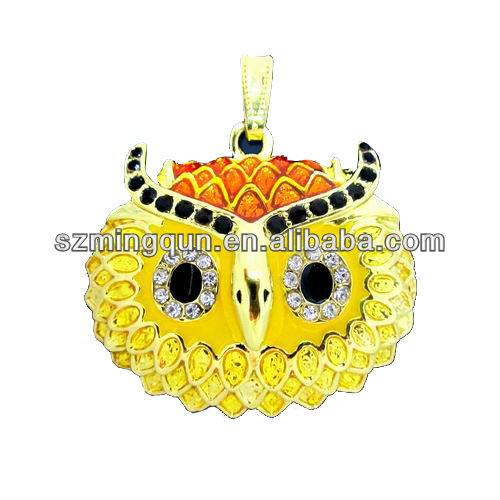 1-8GB jewelry owl usb flash drive