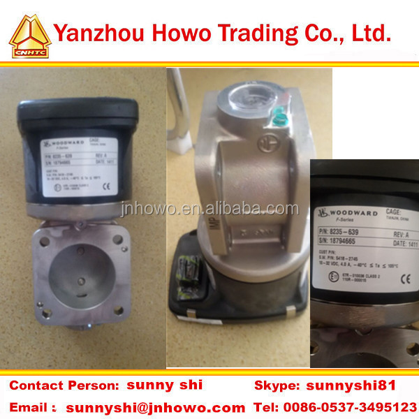 Weichai electronic throttle WOODWARD(CNG LNG) 8235-639