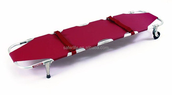 2017 hot sales emergency foldaway scoop spine board hospital metal stretcher bed