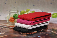 Luxury PU Leather Metal Wiredrawing Pattern Protective Vertical Case Cover For Samsung Galaxy note II N7100