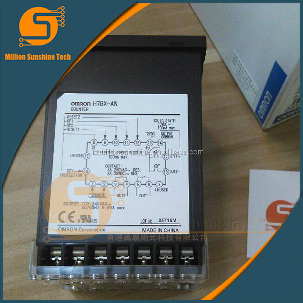H7BX-AW/AWD1 Omron counter,Multifunction Counter