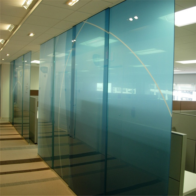 Cheap price tempered folding walls internal glass partion walls