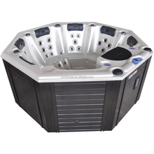 High Quality Octagon Outdoor Sexy Massage Hot Tub