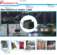 durable high quality motorcycle tyre and tube & rubber inner tube and butyl inner tube