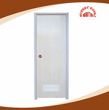 Cheap Price PVC Plain bathroom door plastic toilet door design WK-P001