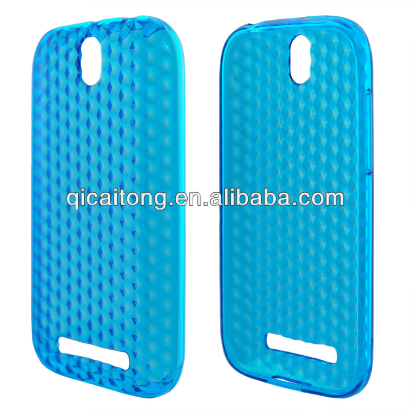 2014 lovely diamond cellphone case for htc one sv/c525e