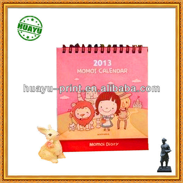 2013 design table calendar table calendar cheap table calendar