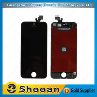 1year warranty lcd touch screen digitizer for iphone 5 digitizer assembly