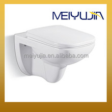 concealed pipe toilet bathroom square wall mounted toilet