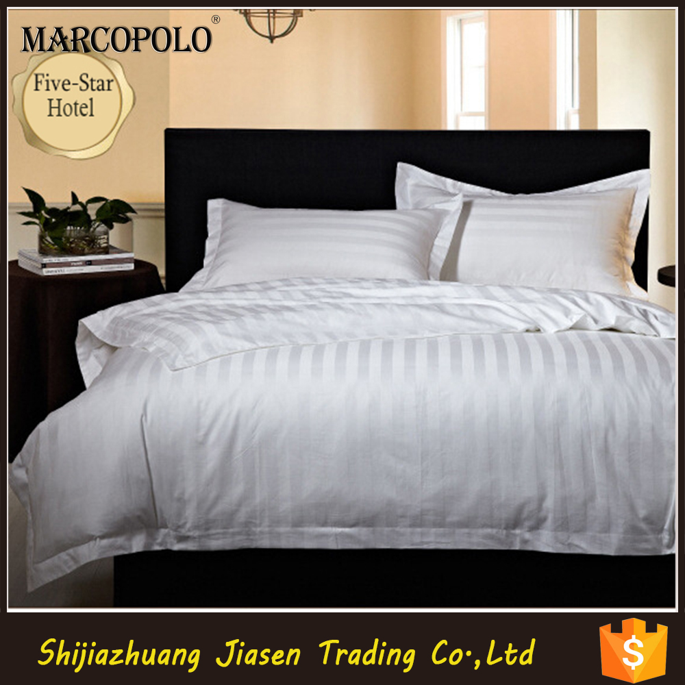 luxury bedding set new bed sheet designs for 5 star hotel white cotton bedding sets stripe satin bedding sets wholesale