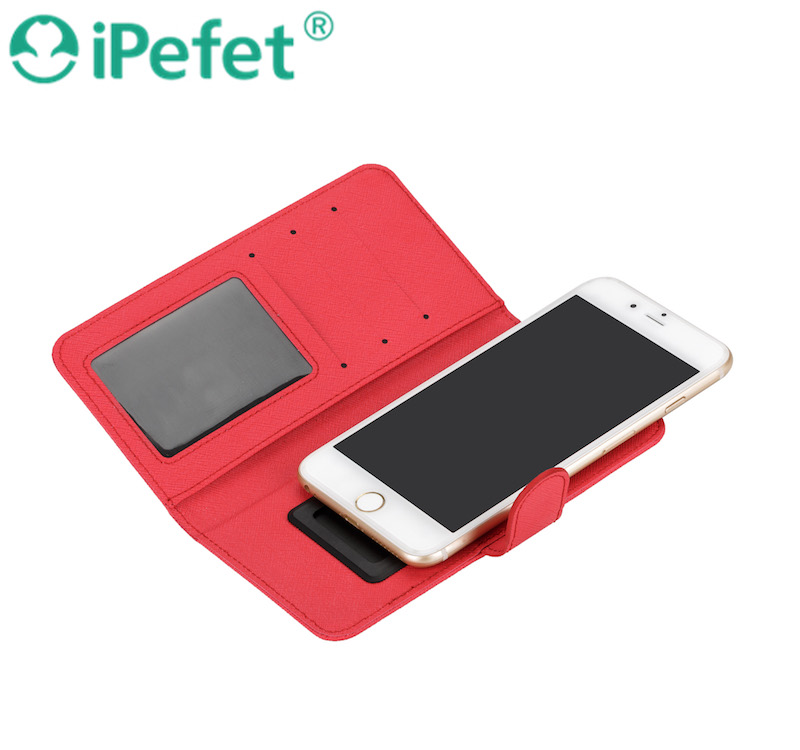 wallet PU flip cover,Mobile Case for different size smartphone