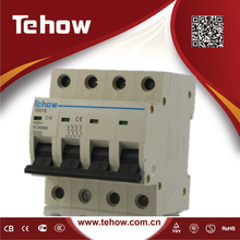 63a 4p electric mcb size