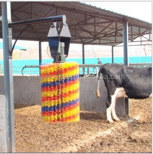 cleaning cow brush/farming roller cleaning brush/cattle/cow brush with electric motor