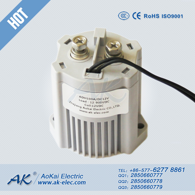 ADH100 100A 12V 24V High Voltage DC Relay
