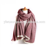 YIWU market hot sell foreign trade knitted cashmere pashmina scarf