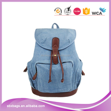 Casual backpack bag for teenage girls school laptop backpack bag for women