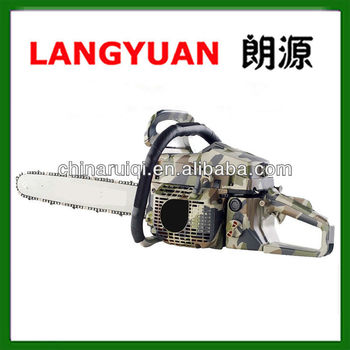 5800 high quality 58cc gas chain saw garden tool with unique design