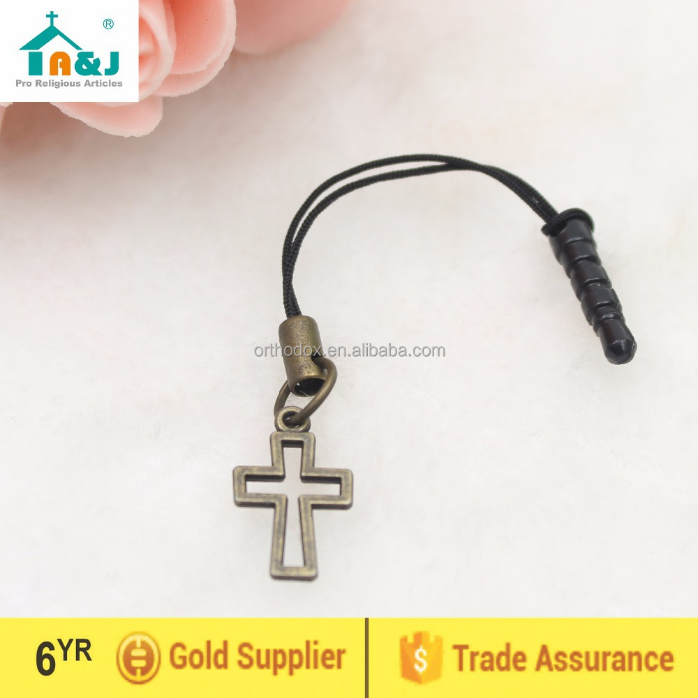 Cross dust plug for iphone