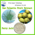 GMP factory supply High Purity food additive saw palmetto fruit extract/total fatty acid 25% 45%