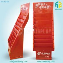 China Red Color POP UP Cardboard Display Stand for Greeting Card