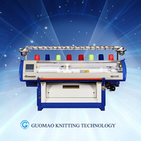 home computerized yarn knitting machines collar knitting machine GUOSHENG