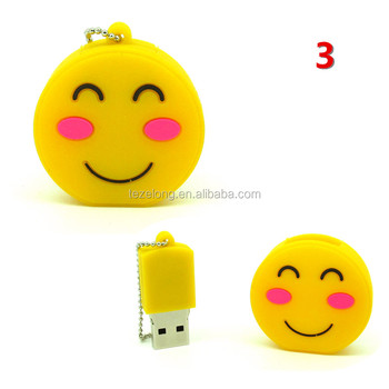 USB 2.0 stick pendrive emoji expression usb flash disk pen drive 1gb-64gb U disk external emotion memory stick