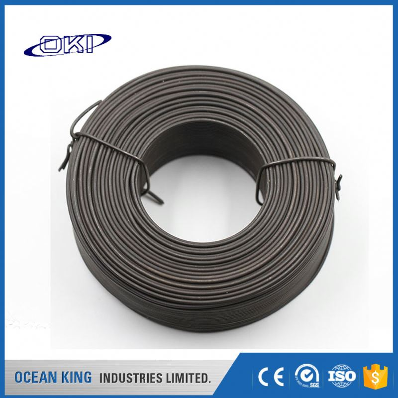 Manufacturers decorative building agriculture double twisted black annealed wire binding wire