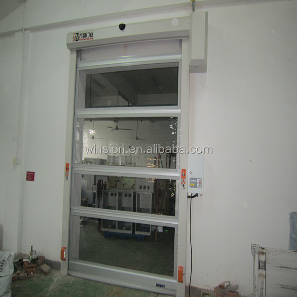 High speed garage pvc shutter fast speed platic roller door made in China Alibaba