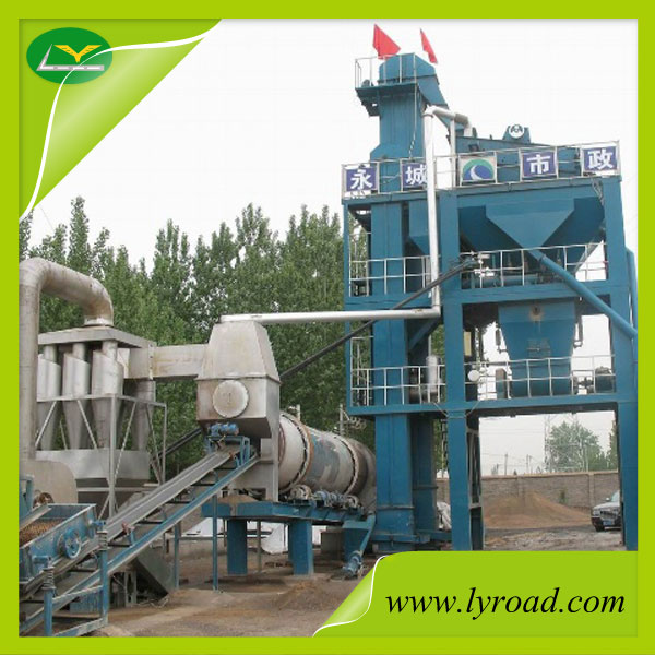 Mini stationary 40t/h asphalt plant with CE ISO, best price of asphalt mixing plant