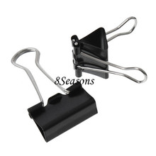 Clearance Sale Black Office Binder Clips 4.3cmx25.0mm