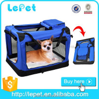 Wholesale custom logo Soft Sided Pet Carrier Airline Approved pet dog Kennel
